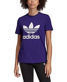 Women's adicolor Cotton Trefoil T-Shirt