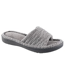 Isotoner Women's Space Knit Andrea Slide Slipper, Online Only