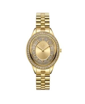 Women's Bellini Diamond (1/8 ct. t.w.) Watch in 18k Gold-plated Stainless-steel Watch 30mm