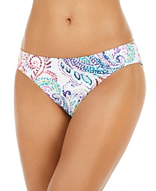 Captiva Paisley Hipster Bikini Bottoms