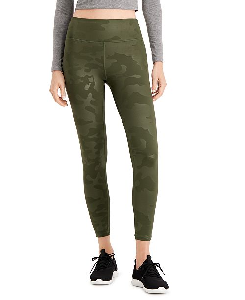 Ideology Cool Camo Printed Leggings, Created for Macy's