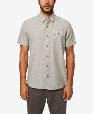 Fensajomon Men Summer Denim Short Sleeve Washed Button Down Chest Pocket Shirts