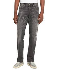 Men's Athletic Fit Gray BRONCO-X Jeans