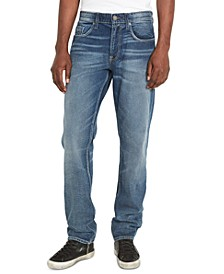 Men's Athletic Fit BRONCO-X Jeans