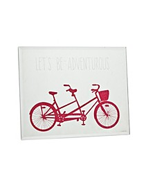 Mirror Bike Plaque