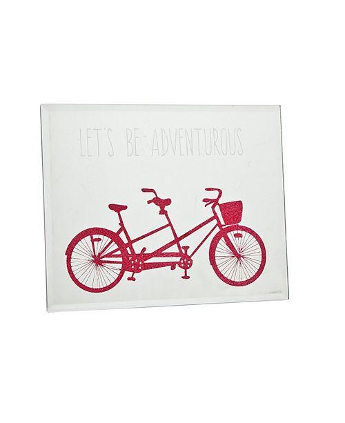 Philip Whitney Mirror Bike Plaque