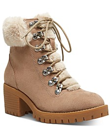 Hidde Faux-Fur Hiker Booties