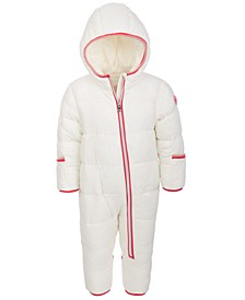 Baby Girls 1-Pc. Hooded Pram Snowsuit