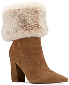 Chrissa Cuffed Booties