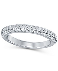 Diamond (1/2 ct. t.w.) Micro Pave Band in Platinum
