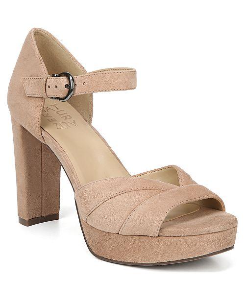 Naturalizer Malina Ankle Strap Sandals