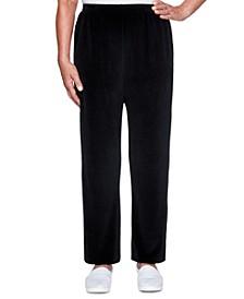 Bright Idea Proportioned Velour Pants