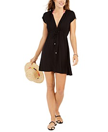 Resort Hooded Dress Cover-Up
