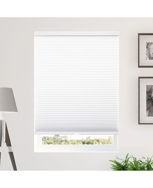 """Chicology Standard Cellular Shades, Privacy Single Cell Window Blind, 54"""" W x 48"""" H"""