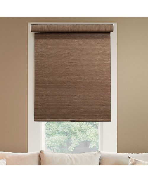 "Chicology Cordless Roller Shades, No Tug Privacy Window Blind, 55"" W x 72"" H"