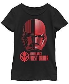 Star Wars Big Girls Rise of Skywalker First Order Allegiance T-Shirt