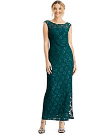 Petite Lace Gown