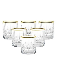 Chic Double Old Fashion Tumblers - Set of 6
