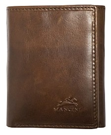 Mancini Boulder Collection RFID Secure Triflod Wallet
