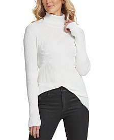 DKNY Ribbed Turtleneck Sweater