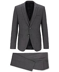 BOSS Men's Extra-Slim-Fit Three-Piece Suit
