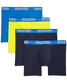 Men's 4-Pk. Performance Boxer Briefs