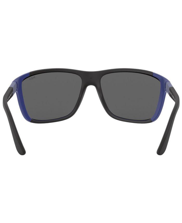 Polo Ralph Lauren Sunglasses, PH4155 62 & Reviews - Sunglasses by Sunglass Hut - Men - Macy's