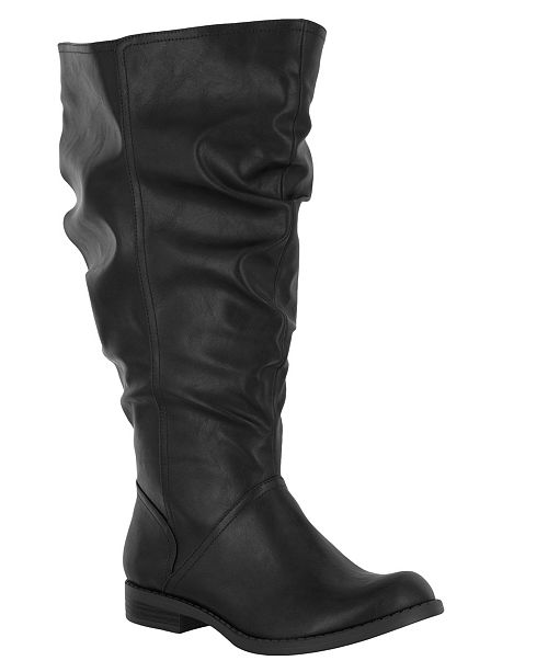 Easy Street Peak Extra Wide-Calf Boots