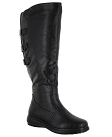 Presley Wide-Calf Tall Boots