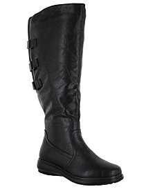 Easy Street Presley Wide-Calf Tall Boots
