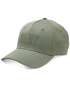 Men's Brushed Twill Logo Baseball Cap
