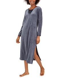 Women's Luxe Fleece Long Nightgown