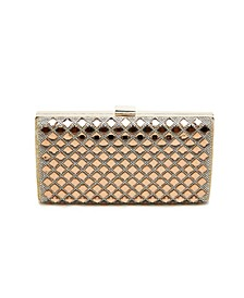 Targaryan Foil Box Clutch