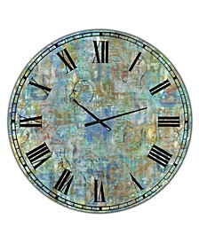 "Mind Blown Large Modern Wall Clock - 23"" x 23"" x 1"""