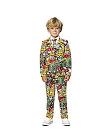 Little Boys Street Vibes Comics Suit
