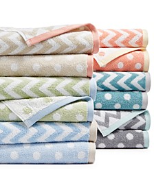 Cotton Spa Fashion Bath Towel Collection, Created for Macy's