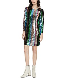 Over The Rainbow Sequin Dress