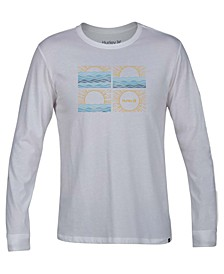 Men's Sunrise Graphic Long Sleeve T-Shirt