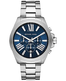 Men's Chronograph Wren Stainless Steel Bracelet Watch 44mm