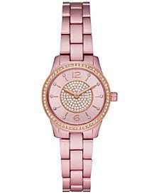 Women's Mini Runway Pink Aluminum Bracelet Watch 28mm