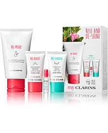 4-Pc. My Clarins Rise & De-Shine Gift Set