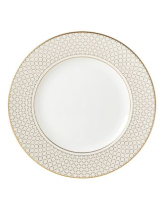 Venetian Lace Gold Dinner Plate
