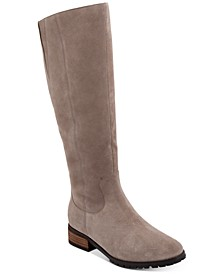 Pam Waterproof Wide-Calf Boots, Created for Macy's