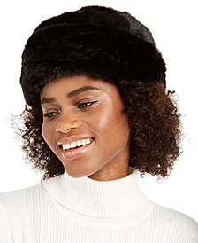 Faux Fur Cuff Cloche