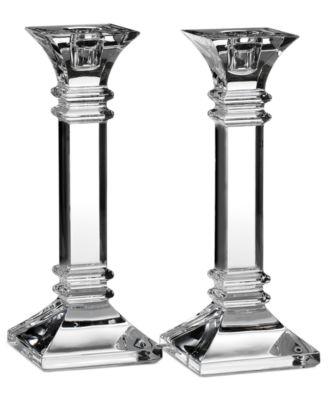 "Treviso 8"" Set of 2 Candlesticks"