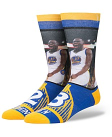 Draymond Green Golden State Warriors Player Jersey Crew Socks