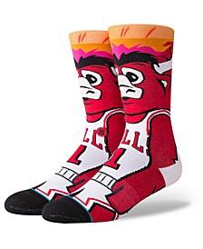 Chicago Bulls  Mascot Crew Socks