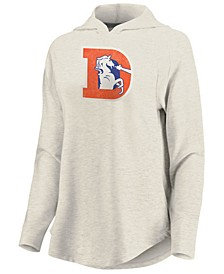 Women's Denver Broncos French Terry Pullover