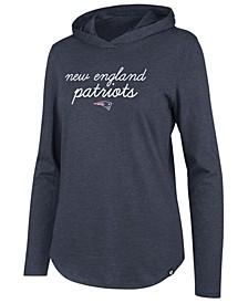 Women's New England Patriots Script PO Hoodie