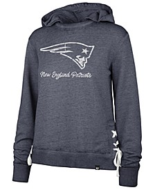 Women's New England Patriots Lace Up Hoodie